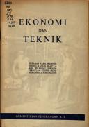 Ekonomi dan teknik